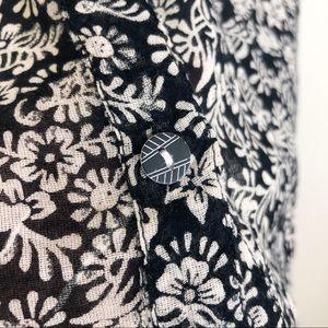 Anthropologie Tops - •HEI HEI• Anthro Lion Paisley Button Down Shirt